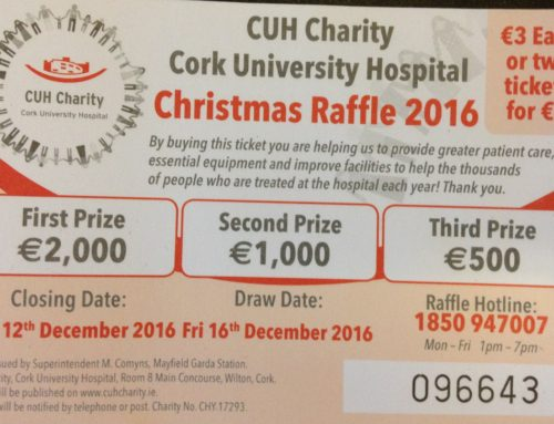 CUH Charity Christmas Raffle Appeal 2016