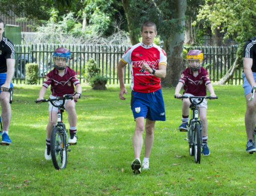 Rob Heffernan officially launches Wheel4Life 2017 – a cycle initiative with CUH Charity and Bishopstown GAA