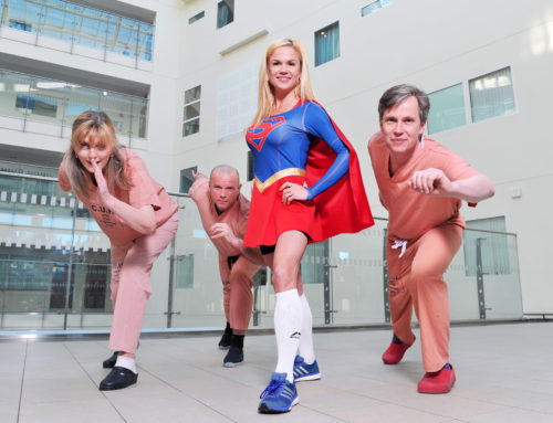'Wonder Woman' Runs for her Life for CUH Charity